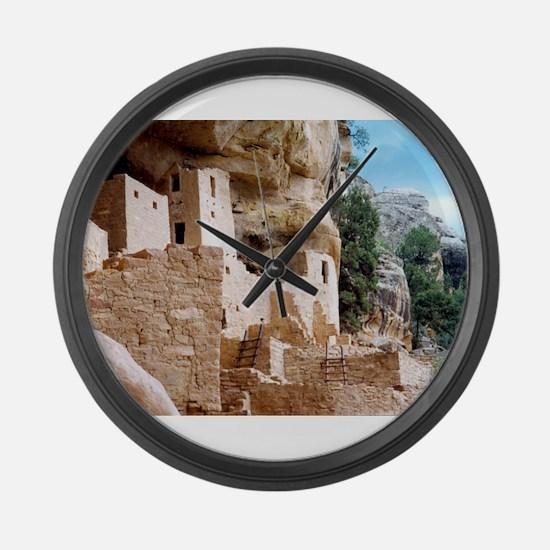 Cute Palaces Large Wall Clock
