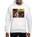 Santa's Wheaten (#7) Hooded Sweatshirt