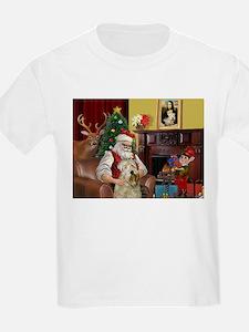 Santa's Wheaten (#7) T-Shirt