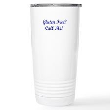 Gluten Free? Call Me! Travel Mug