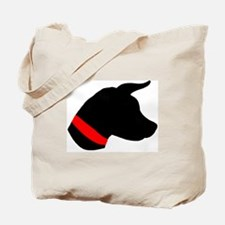Dog Head Tote Bag