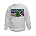 Xmas Magic & Westie Kids Sweatshirt