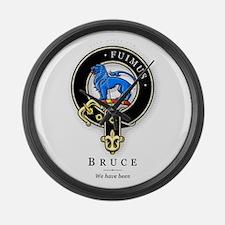 Clan Bruce Large Wall Clock