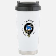 Clan Bruce Stainless Steel Travel Mug