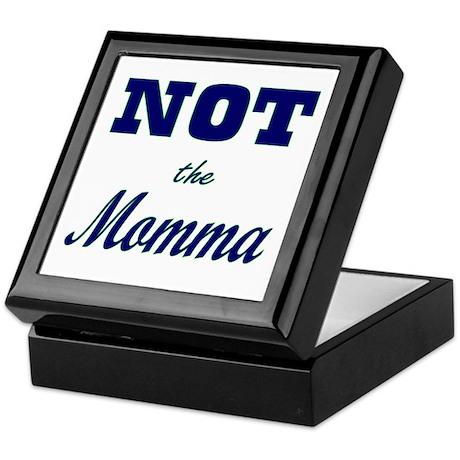 Not The Momma Keepsake Box