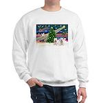 Xmas Magic & 2 Westies Sweatshirt