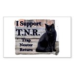 I Support TNR Rectangle Sticker