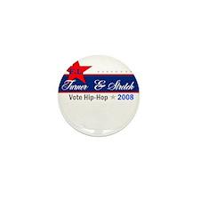 Stretch -n- Turner '08 Mini Button (10 pack)