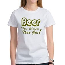 Beer Now Cheaper Than Gas Tee