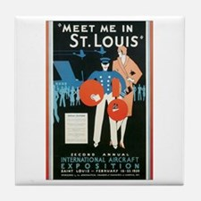 ST. LOUIS MISSOURI Tile Coaster
