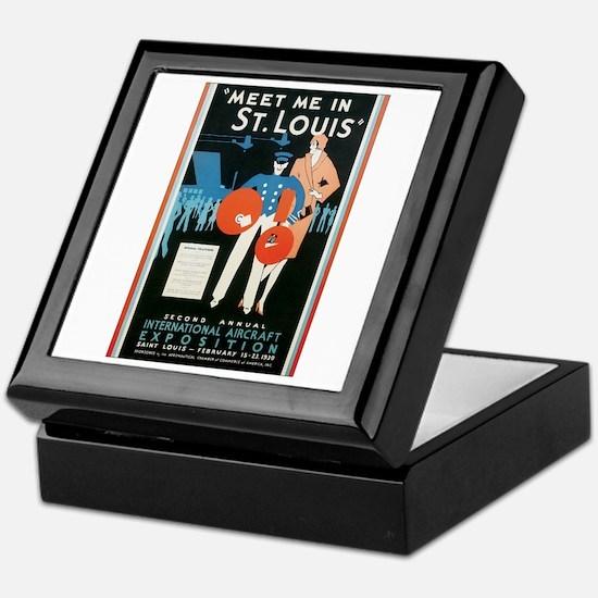 ST. LOUIS MISSOURI Keepsake Box