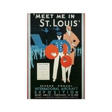 ST. LOUIS MISSOURI Rectangle Magnet