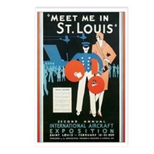 ST. LOUIS MISSOURI Postcards (Package of 8)