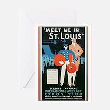 ST. LOUIS MISSOURI Greeting Card