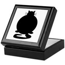 Fat Cat Keepsake Box