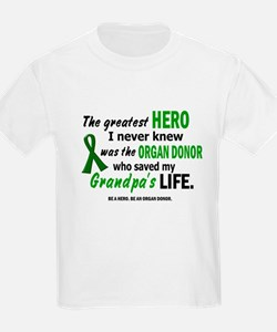 Hero I Never Knew 1 (Grandpa) T-Shirt