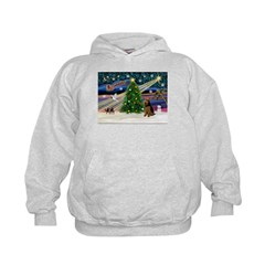 Xmas Magic & Welsh Terrier Hoodie