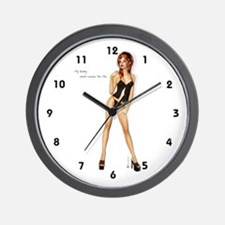 My Baby Just Cares For Me Wall Clock