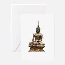 buddhist art peace Greeting Cards (Pk of 10)