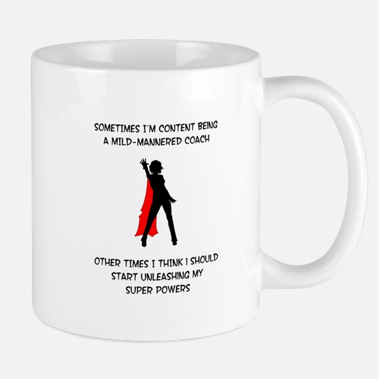 Coaching Superheroine Mug