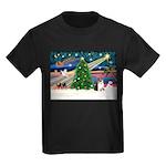 Xmas Magic & Corgi Kids Dark T-Shirt
