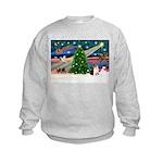 Xmas Magic & Corgi Kids Sweatshirt