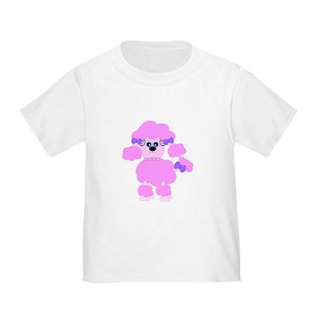 Pink Poodle Toddler T-Shirt