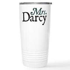 Jane Austen Mrs. Darcy Stainless Steel Travel Mug