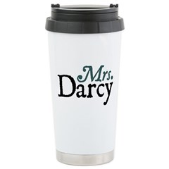 Jane Austen Mrs. Darcy Travel Mug