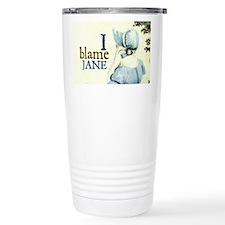 Jane Austen Blame Jane Thermos Mug