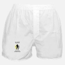 Coaching Superhero Boxer Shorts