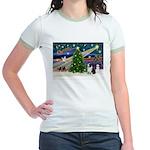 XmasMagic/Corgi (5C) Jr. Ringer T-Shirt