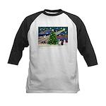 XmasMagic/Corgi (5C) Kids Baseball Jersey