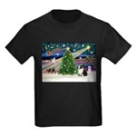 XmasMagic/Corgi (5C) Kids Dark T-Shirt