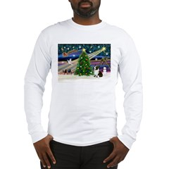 XmasMagic/Corgi (5C) Long Sleeve T-Shirt