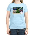 XmasMagic/Corgi (5C) Women's Light T-Shirt