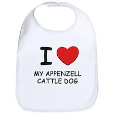 I love MY APPENZELL CATTLE DOG Bib