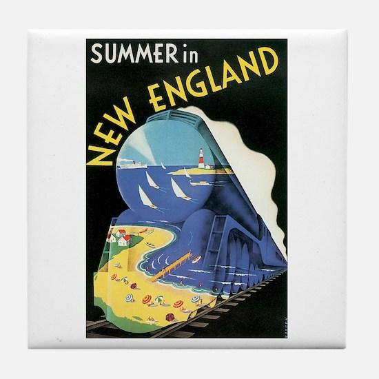 New England Tile Coaster