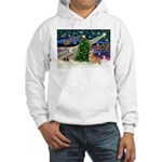 XmasMagic/Corgi (7b) Hooded Sweatshirt