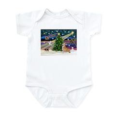 XmasMagic/Corgi (7b) Infant Bodysuit