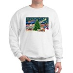 XmasMagic/2 Corgis (P3) Sweatshirt