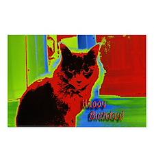 Cat Birthday (Box of 8 Postcards)