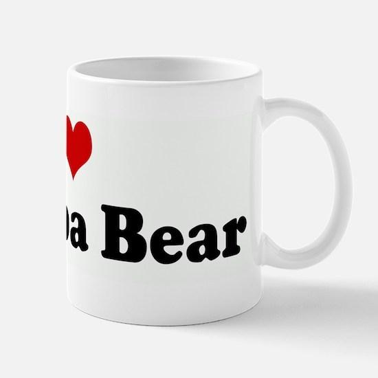 I Love My Papa Bear Mug