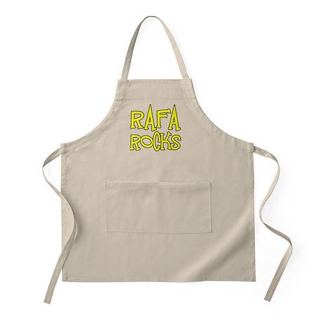 Rafa Rocks Tennis Design BBQ Apron