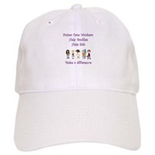 Foster Care Workers Baseball Baseball Cap