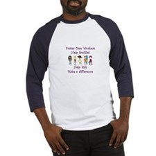 Foster Care Workers Baseball Jersey