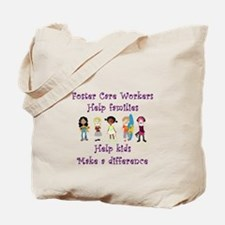 Foster Care Workers Tote Bag