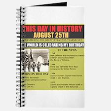 august25th- birthday Journal