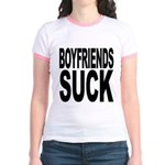 Boyfriends Suck Jr. Ringer T-Shirt