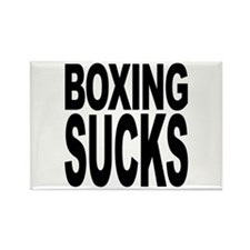 Boxing Sucks Rectangle Magnet